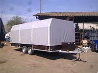 Прицеп для перевозки 3-х квадроциклов тентованный., фото 1