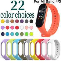 Ремешки на фитнес часы Mi Band 3 и Band 4