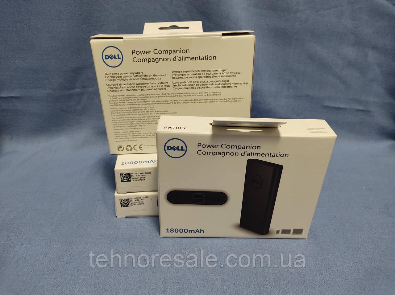 Новий повербанк для ноутбуків Dell Power Companion 18000 mAh     65W
