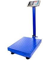 Торгові ваги до 150 кг посилені 30 х 40 див. FOLD 6v c залізною головою і пам'яттю, електронні ваги, фото 3