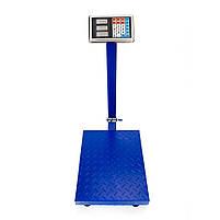 Торгові ваги до 150 кг посилені 30 х 40 див. FOLD 6v c залізною головою і пам'яттю, електронні ваги, фото 2