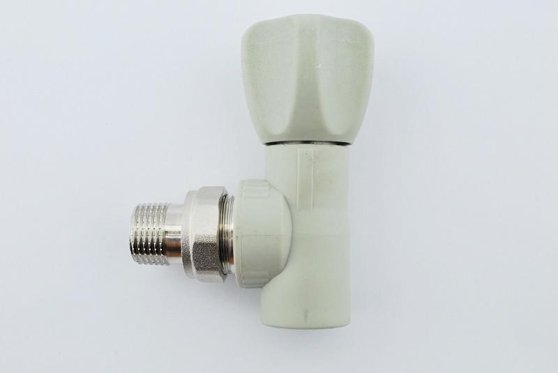 Вентиль радіаторний кутовий Koer k0168.pro 25x3/4