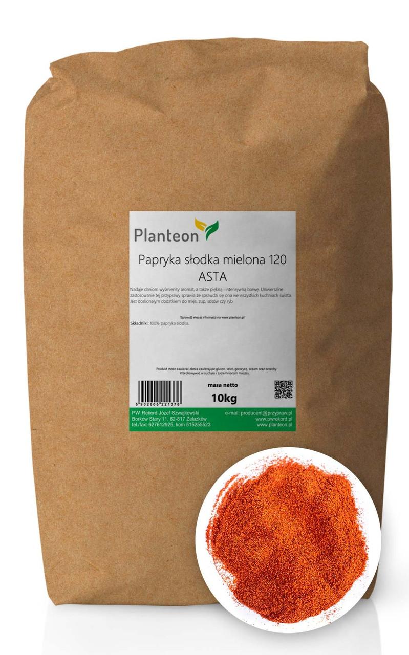 Паприка сладкая молотая 120 ASTA, перец сладкий красный молотый 10 кг, PL