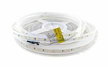 Світлодіодна стрічка 24вольт 8.6 Вт 818лм нейтральна 2835-120-IP65-NW-11-24 RD11C0TC-B 4000K CRI80 14271