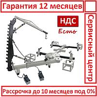 VE-800B. Стапель платформенный, рихтовочный, автомобильный, для рихтовки кузова, стенд авто вытяжки, правки