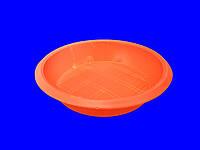 Тарелка одноразовая пластиковая 350 (50шт) Дифлон