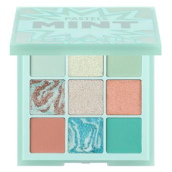 Палетка теней HUDA BEAUTY Pastel Obsessions Eyeshadow Palette Mint 10 г