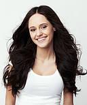 Волосся на заколках 50 см. Колір #02 Темно-Коричневий, фото 6