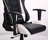 Крісло VR Racer Blade чорний/білий (безкоштовна адресна доставка), фото 8
