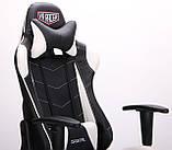 Крісло VR Racer Blade чорний/білий (безкоштовна адресна доставка), фото 7