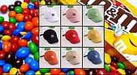 Дитяча кепка Бейсболка M&m's (Эмемдемс) з гнутим козирком, Унісекс