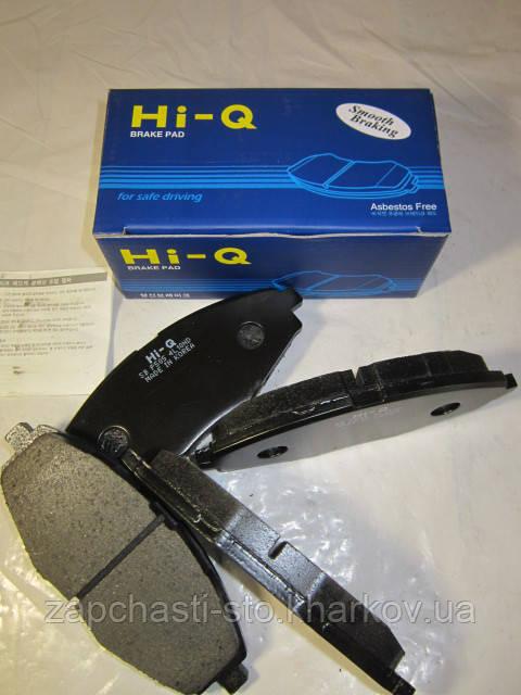 Тормозные колодки передние Сенс, Ланос HI-Q