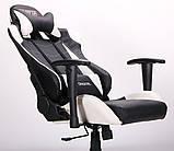 Крісло VR Racer Blade чорний/білий (безкоштовна адресна доставка), фото 9