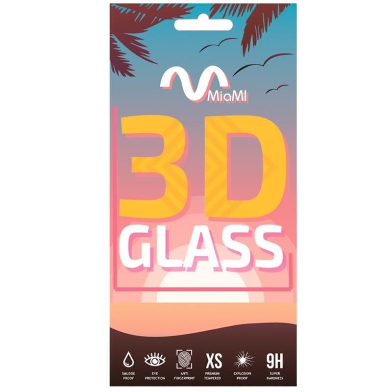 Защитное стекло Miami для Xiaomi Redmi Note 9 4G Black, 0.33mm, 3D (00000013901)