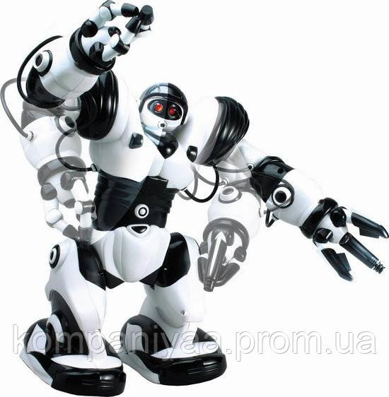 Робот на радіоуправлінні Robowisdom 28091, 67 програм (Біло-чорний)