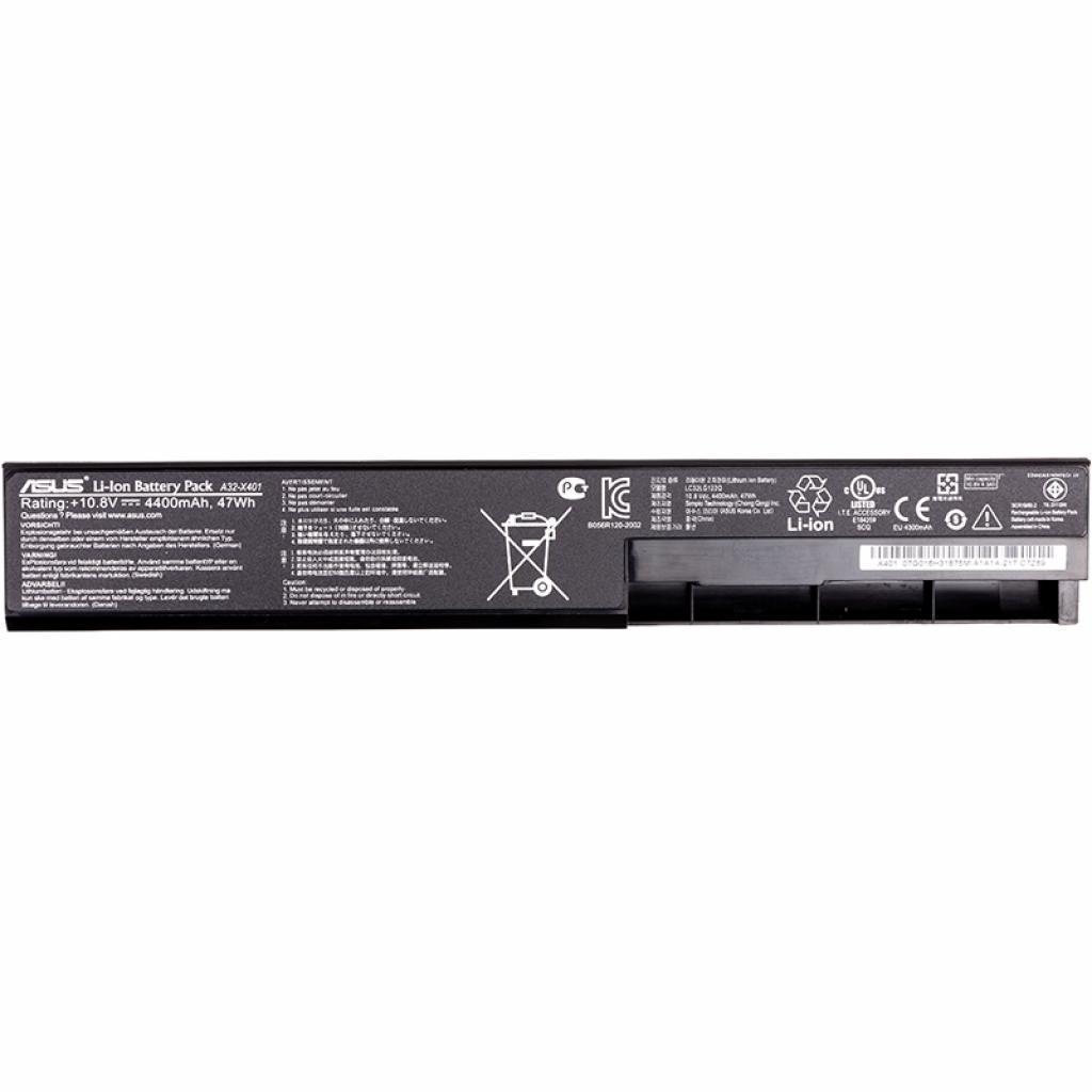 Аккумулятор для ноутбука ASUS X401 (A32-X401) (NB431083)