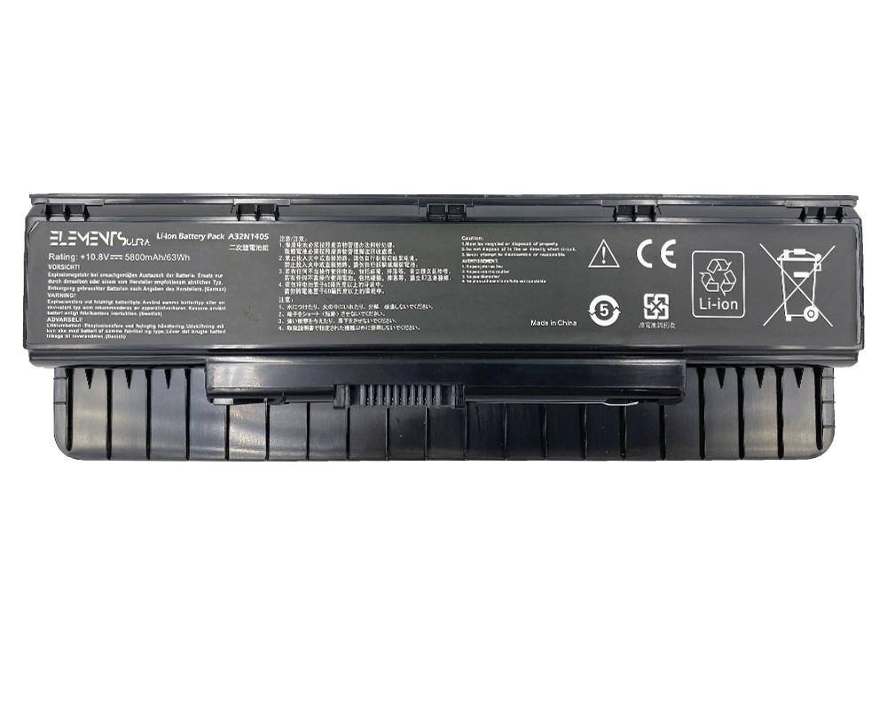 Батарея Elements ULTRA для Asus G551J G58J G771J N551J N751J ROG G551J G771J GL551J GL771J 10.8V 5800mAh