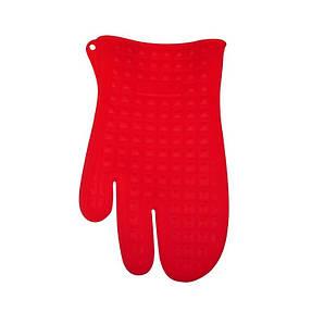 Рукавица пекарская 27,4х16,7см. Silikomart, силиконовая красного цвета (ACC073/CH)