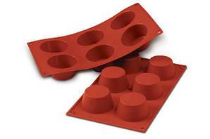 """Форма для выпечки """"Мафин"""" 6,9х3,5 см., 600 мл., силиконовая Silikomart"""