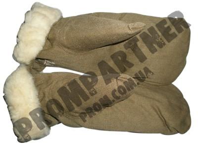 Рукавицы утеплённые на овчине - ТОВ «Промпартнер» в Киеве
