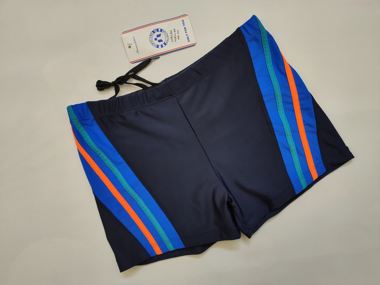 Шорты-плавки мужские SAME GAME 510 синий (В НАЛИЧИИ ТОЛЬКО   48 52 54 56  размеры)