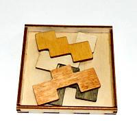 Головоломка деревянная Квартет