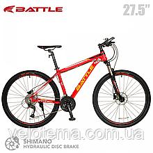 Велосипед Battle Thunder 27.5 Гидравлика, 27 скоростей, рама алюминий 7005, кассета, Shimano Altus.