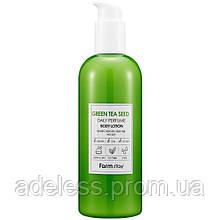 Увлажняющий лосьон для тела с экстрактом зеленого чая FarmStay Green Tea Seed Daily Perfume Body Lotion, 330мл