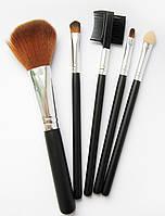 Набор искуственных кистей для макияжа Miss Madonna 5 шт.