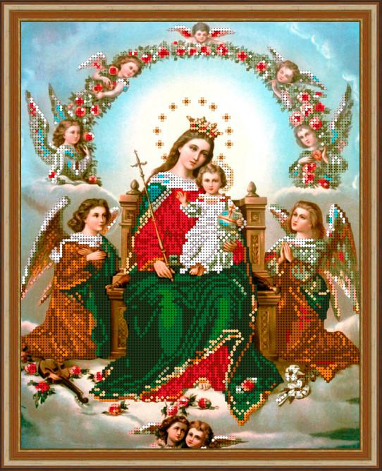 Вышивка бисером, Канва схемы религия Иконы Мария и ангелы