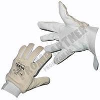 Перчатки кожа Velcro