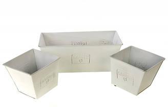 Набор металлических кашпо Florabest 3 шт 1310