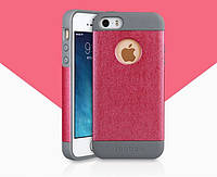 Кожаный чехол-накладка для телефона Yoobao Amazing Protecting case for iPhone 5/5S, rose (PCI5S-ARS)