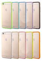 Силиконовый чехол для телефона TPU case 0,3mm for iPhone 6 purple