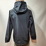 Мужская кофта ветровка на молнии с капюшоном в стиле Пума, фото 7