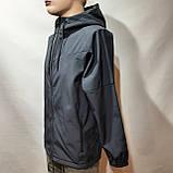 Мужская кофта ветровка на молнии с капюшоном в стиле Пума, фото 2