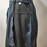 Мужская кофта ветровка на молнии с капюшоном в стиле Пума, фото 8