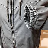 Мужская кофта ветровка на молнии с капюшоном в стиле Пума, фото 6