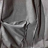 Мужская кофта ветровка на молнии с капюшоном в стиле Пума, фото 9