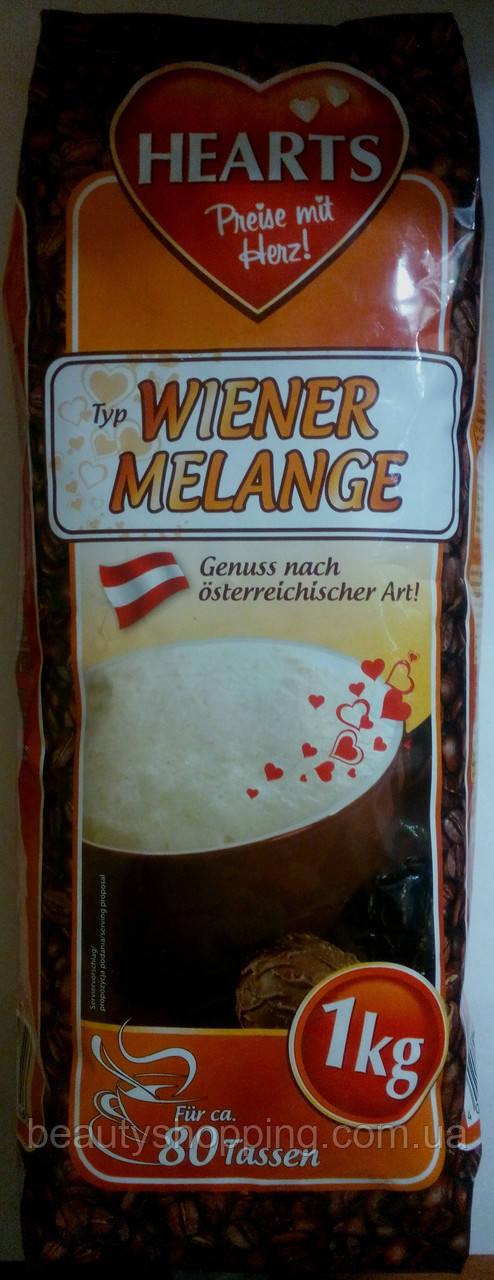 Капучино Hearts Capuccino Wiener Melange 1kg Германия