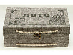 Лото в деревянной коробке, 0871
