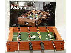 Футбол настольный, корпус из дерева 48*32 см
