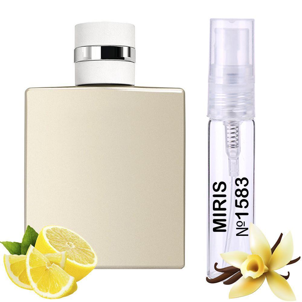 Пробник Духів MIRIS №1583 (аромат схожий на Chanel Allure Homme Edition Blanche) Чоловічий 3 ml