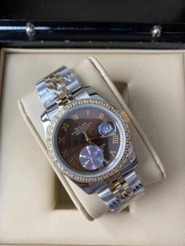 Наручные часы Ролекс (реплика) Дэйджаст 38 мм Люкс копия