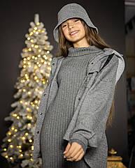 Стильный костюм тройка для девочек сюзанна Размеры 140- 164 тм Madlen