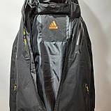 L,XXL р. Чоловіча куртка весняна Adidas Адідас репліка демісезонна чорна, фото 6