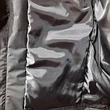 L,XXL р. Чоловіча куртка весняна Adidas Адідас репліка демісезонна чорна, фото 9