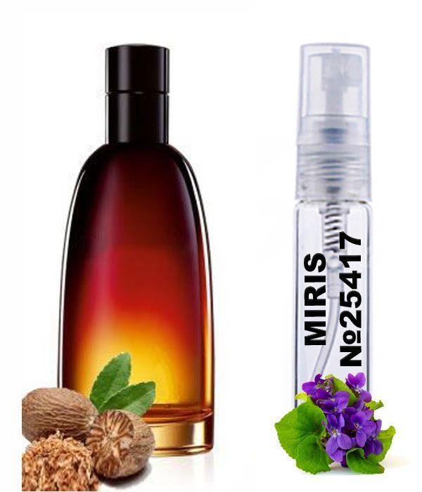 Пробник Духів MIRIS №25417 (аромат схожий на Christian Dior Fahrenheit) Чоловічі 3 ml