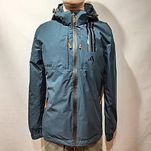 Чоловіча куртка весняна Adidas Адідас репліка демісезонна