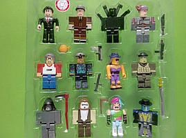 Игровой набор Роблокс 12 персонажей с питомцами оружием аксессуарами Р 20050